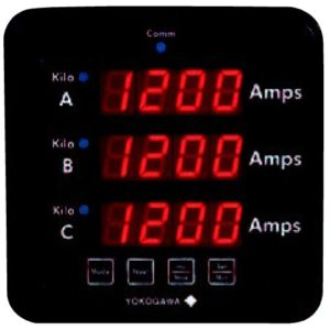 3 In 1 AC Volt or Amp Meter