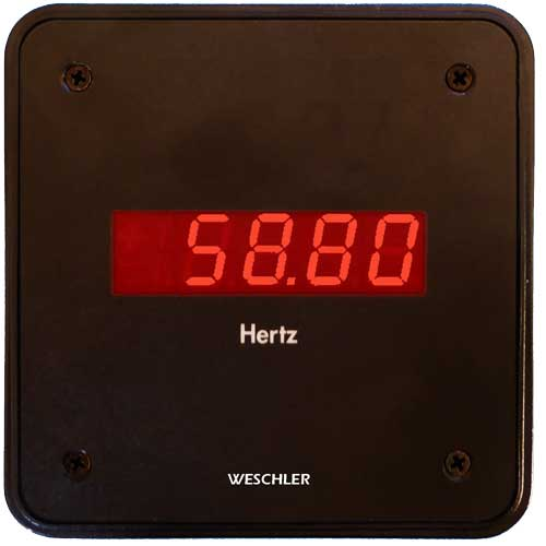 Frequency Digital Switchboard Meter