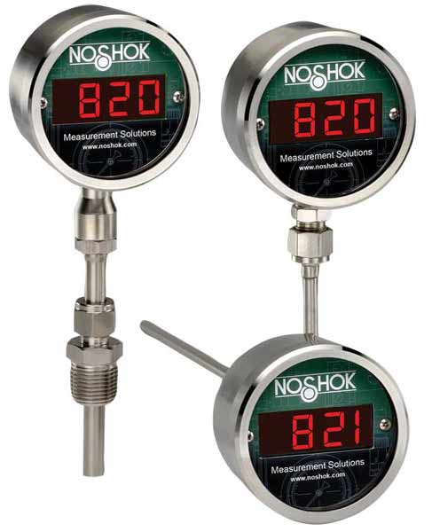 Noshok 820/821 series Digital Temperature Indicators