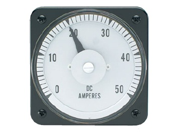 DC Current Switchboard Meter