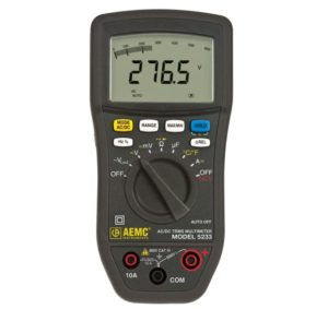 AEMC 5233b Count Multimeter
