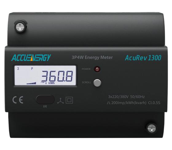 Accuenergy DIN Power & Energy Meter