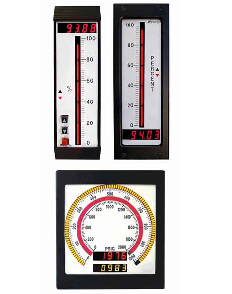 High Reliability Digital Bargraph Meters