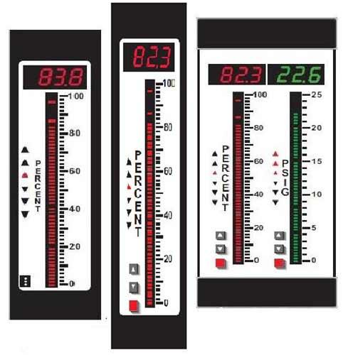 BG Series Large Edgewise Bargraphs