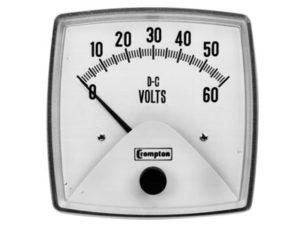 Fiesta Series D.C. Voltmeter