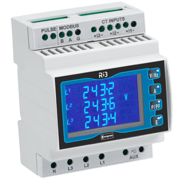 Crompton DIN-Rail Power & Energy Meter