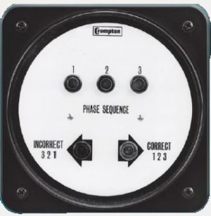 AC Phase Sequence Indicator