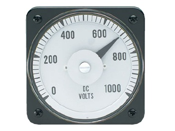 DC Voltage Switchboard Meter