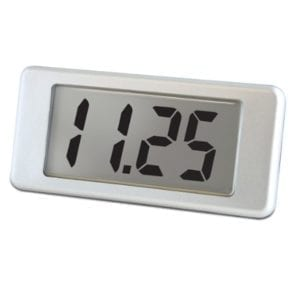 EMV Current Quick Mount LCD Panel Meter