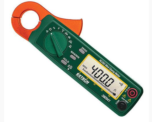 200A AC/DC Mini Clamp plus MultiMeter