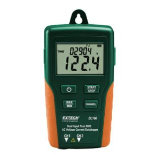 Dual Input TRMS AC Voltage / Current Datalogger