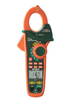AC/DC 400A TRMS Clamp Meter
