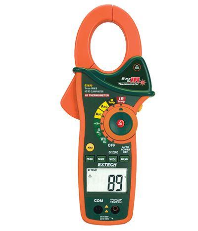 600A, 1000A Clamp Meter - Extech