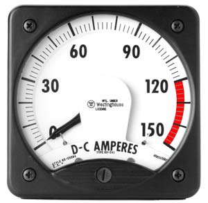 DC Voltage & Current Analog Switchboard Meter