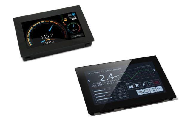 Lascar PanelPilot Touchscreen Graphical Display Meter