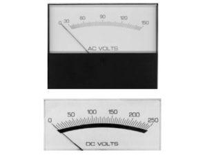 Modutec S & W Series AC Current/Voltage Meter