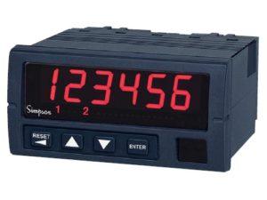 Rate/Batch Meter- Simpson