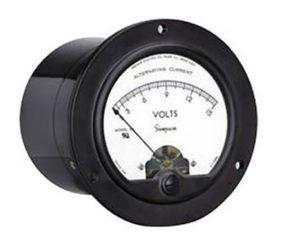 Round Analog Panel Meter