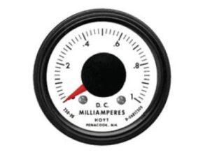 250 deg DC Meters