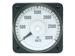 AC Voltage Switchboard Meter