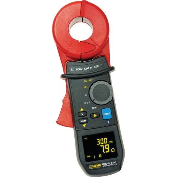 Clamp-On Ground Resistance Tester