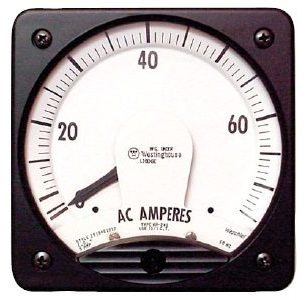 AC Current Analog Switchboard Meter