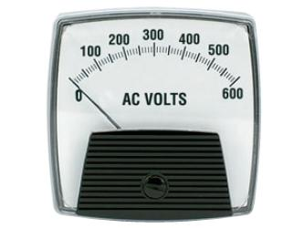Big Look AC Voltmeter