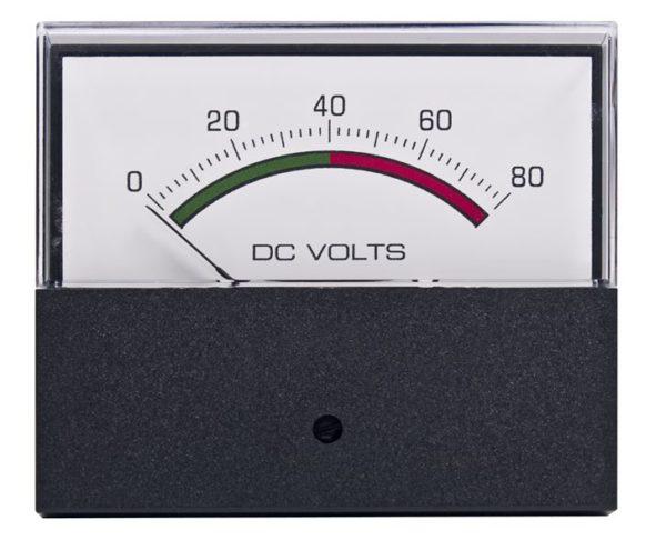 Horizon Line DC Voltmeter