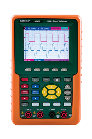 Digital Oscilloscope - MS420 - Extech