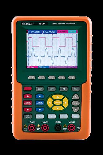 Digital Oscilloscope - MS420 - Extech