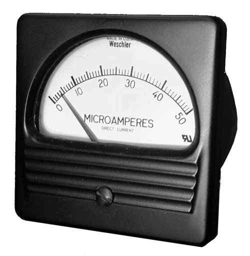 Weschler Conventional Analog Panel Meter
