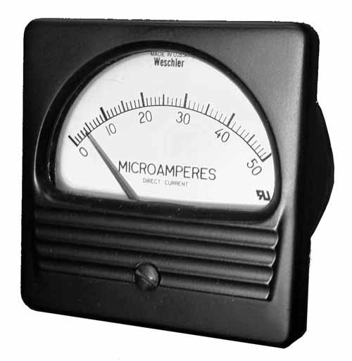 Weschler Conventional Analog Panel Meter