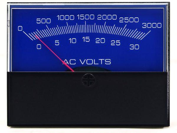 Stylist AC Voltage Analog Meter