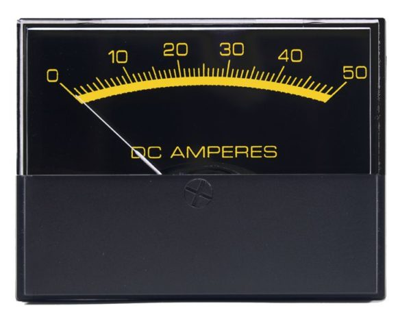 Stylist DC Ammeters Analog