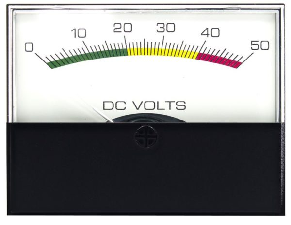 Stylist DC Voltmeters Analog