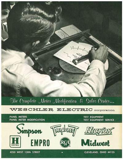 1965 Weschler Brochure