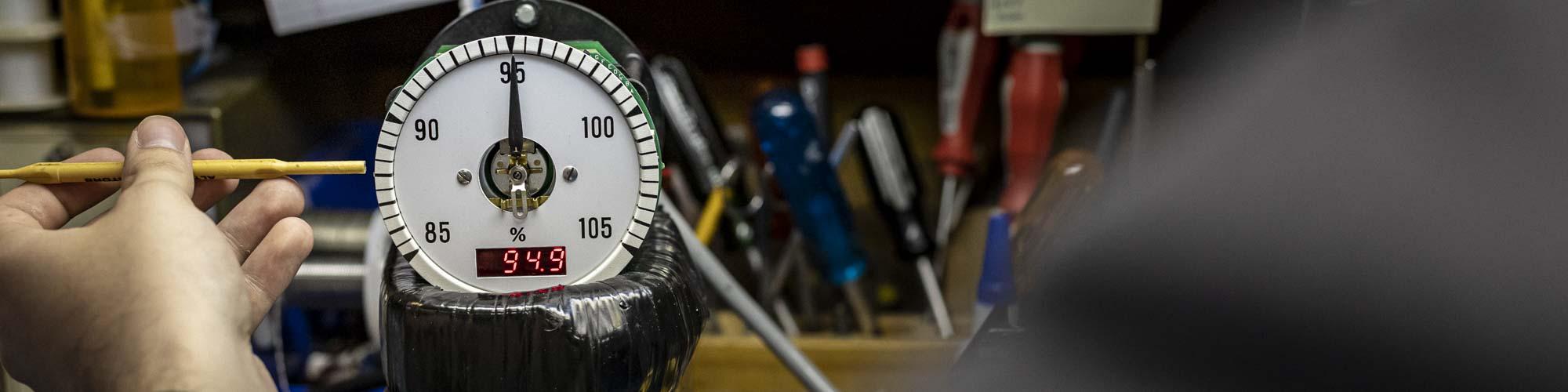 Switchboard Meter Header