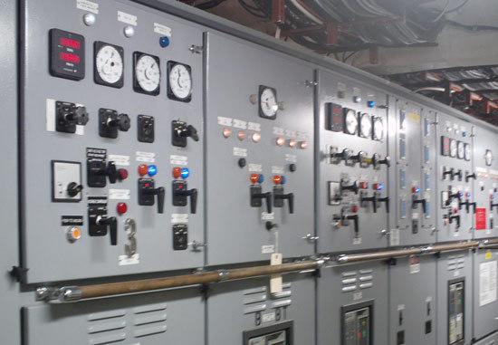 modern switchboard