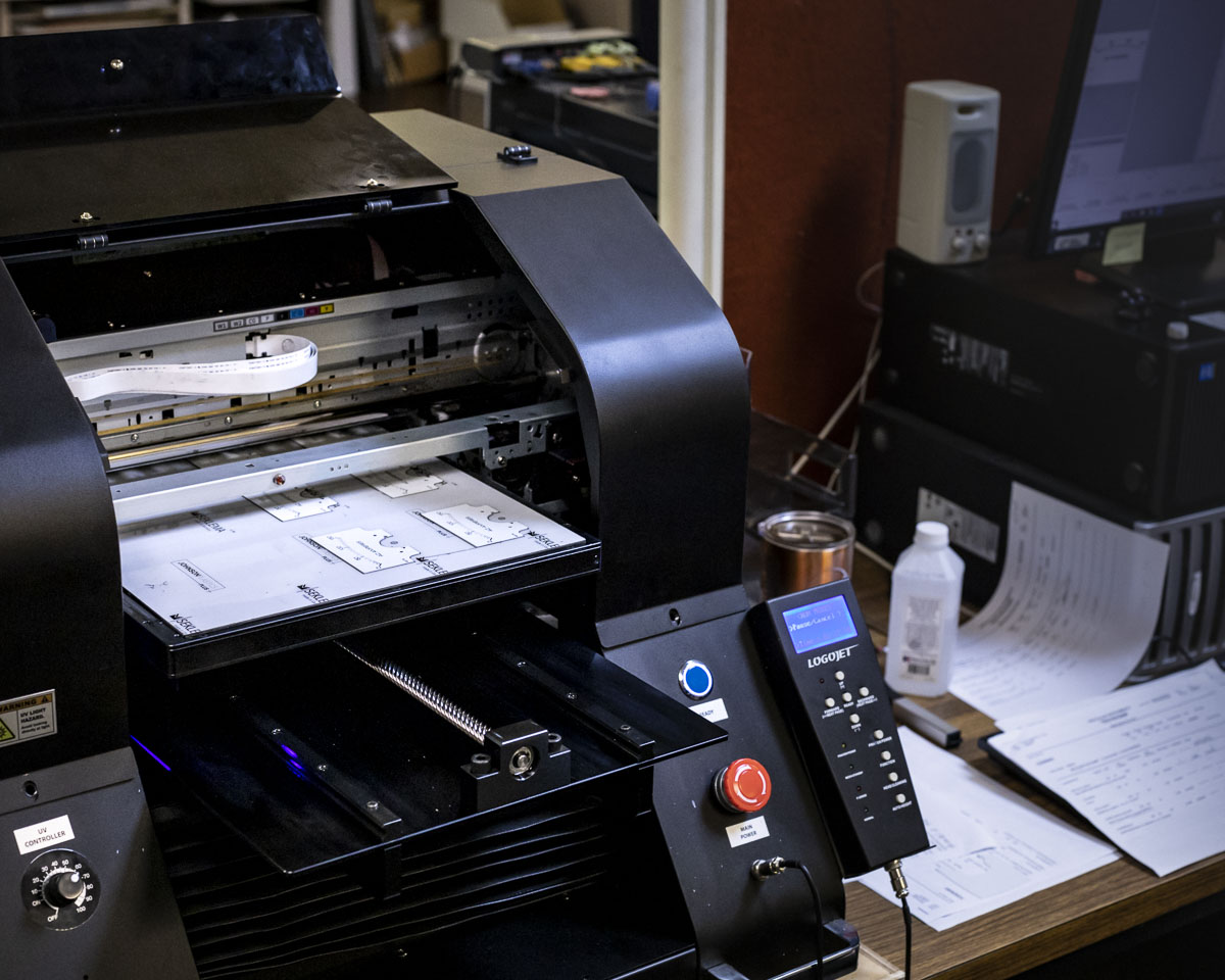 Logo Jet UV Printer